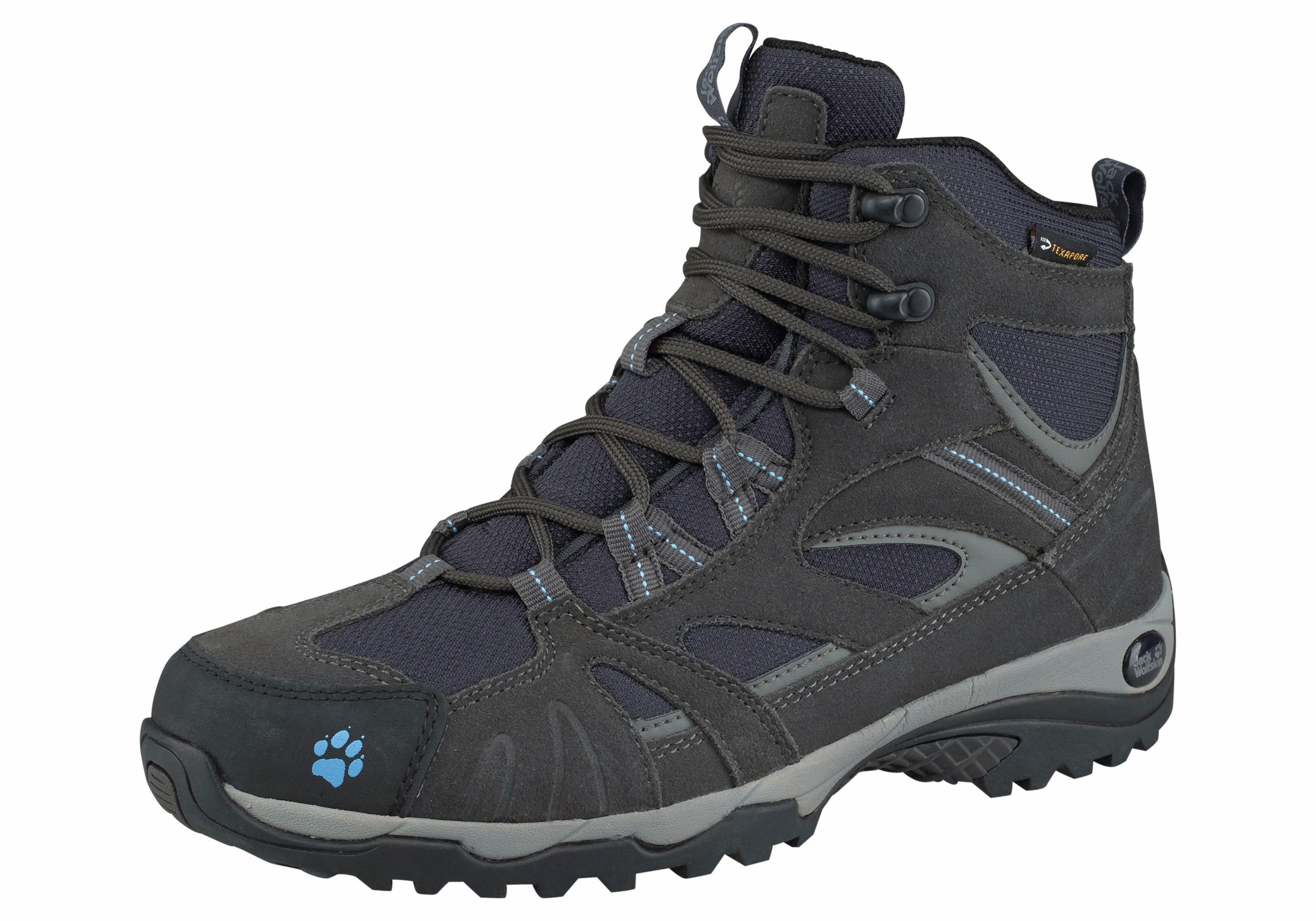 Jack Wolfskin Vojo Hike Texapore Mid Outdoorschuh online kaufen  dunkelgrau-blau