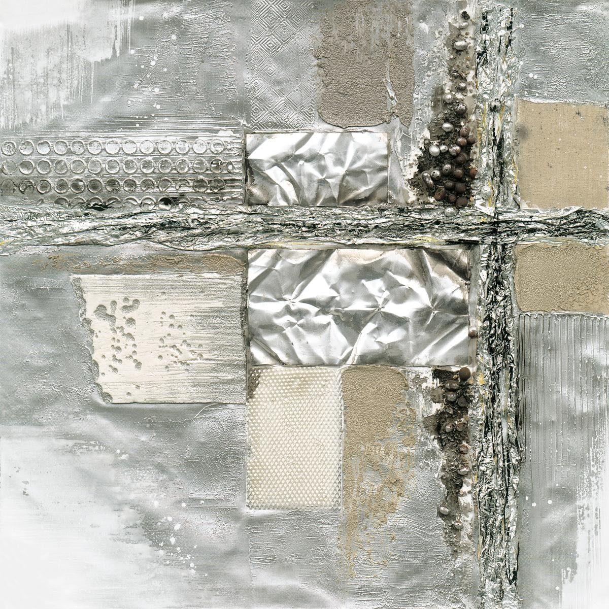 EUROGRAPHICS Handgemaltes Ölgemälde »Only One Breath«, 80/80 cm