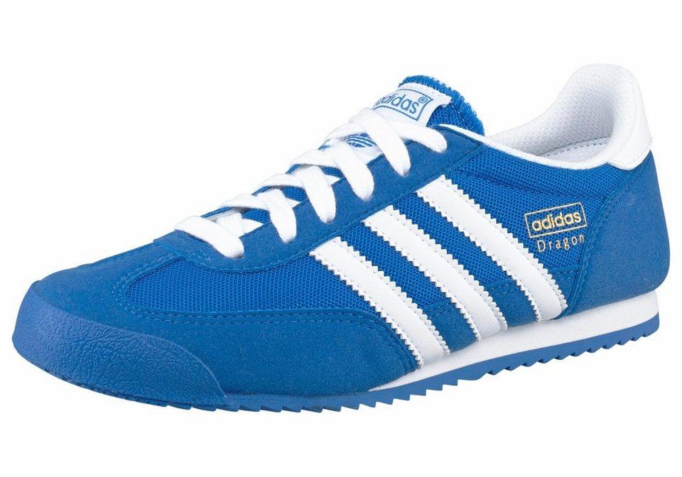 adidas Originals »Dragon Junior« Sneaker in blau-weiß