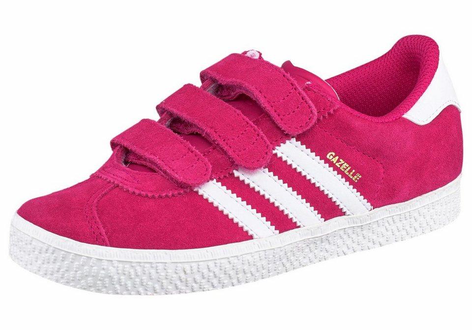adidas Originals »Gazelle 2 CF« Sneaker in pink-weiß