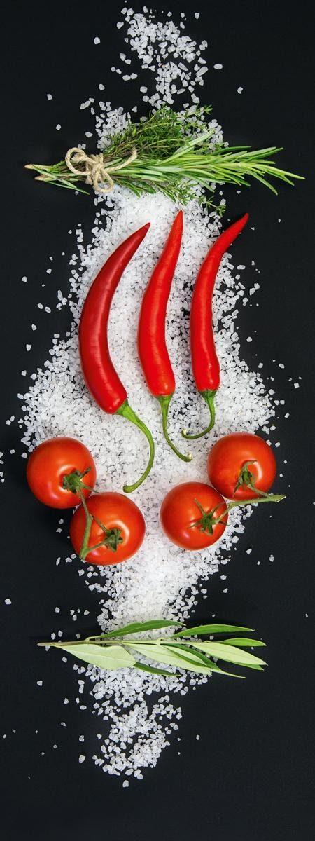 EUROGRAPHICS Deco Panel »Cucina Italiana Aroma«, 80/30 cm