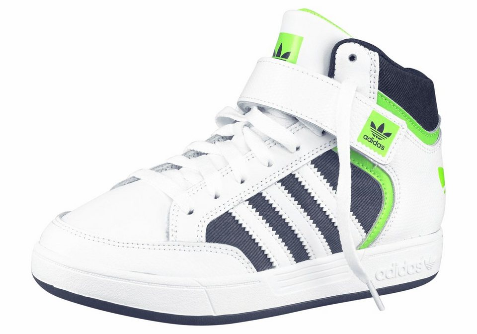 adidas Originals »Varial Mid« Sneaker Kinder in weiß-schwarz