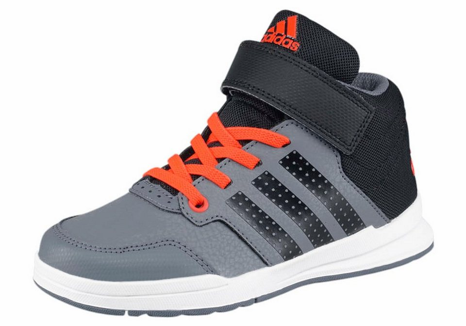 adidas Performance »Jan BS 2 Mid« Sneaker Kinder in grau-schwarz