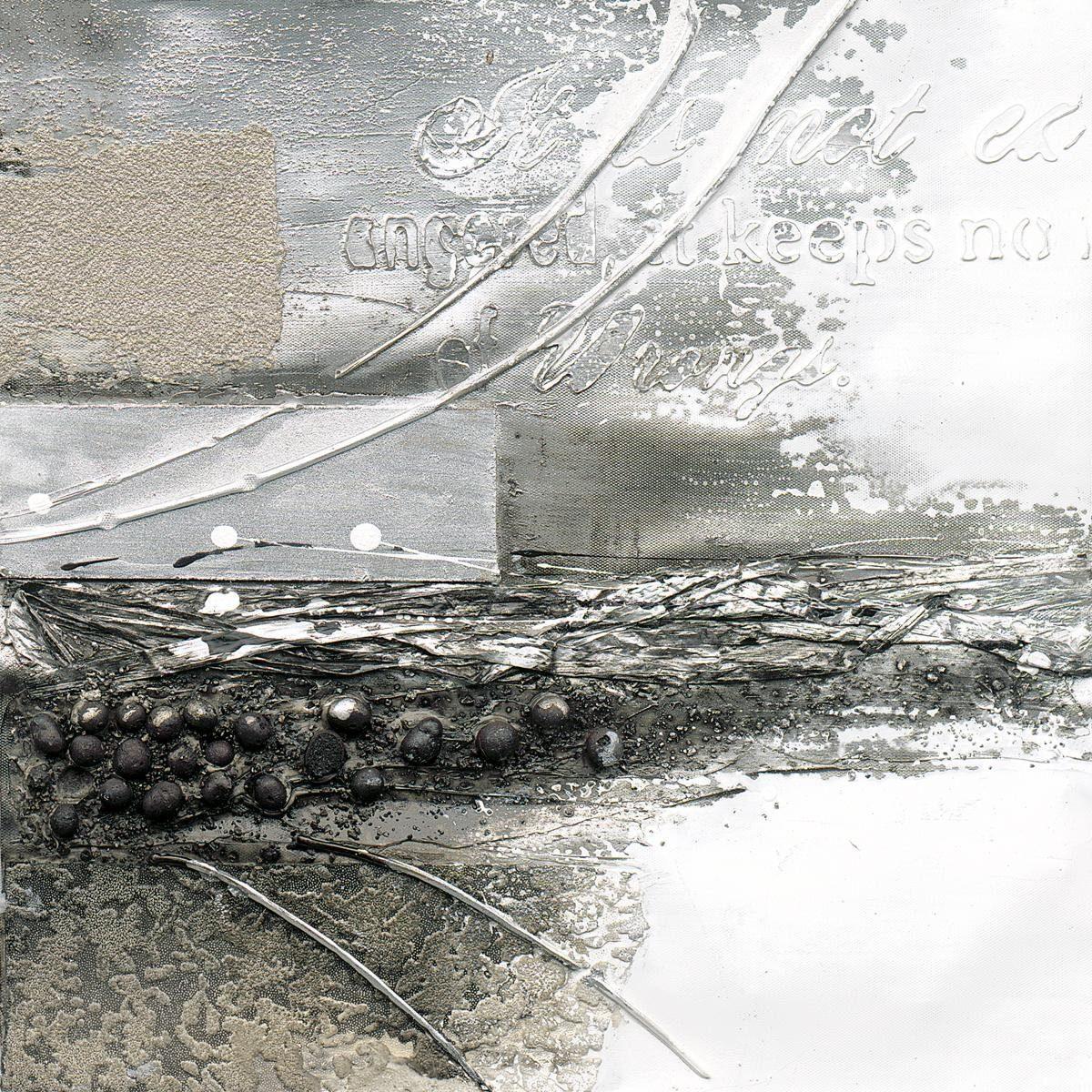 EUROGRAPHICS Handgemaltes Ölgemälde »A Storms Wings II«, 40/40 cm