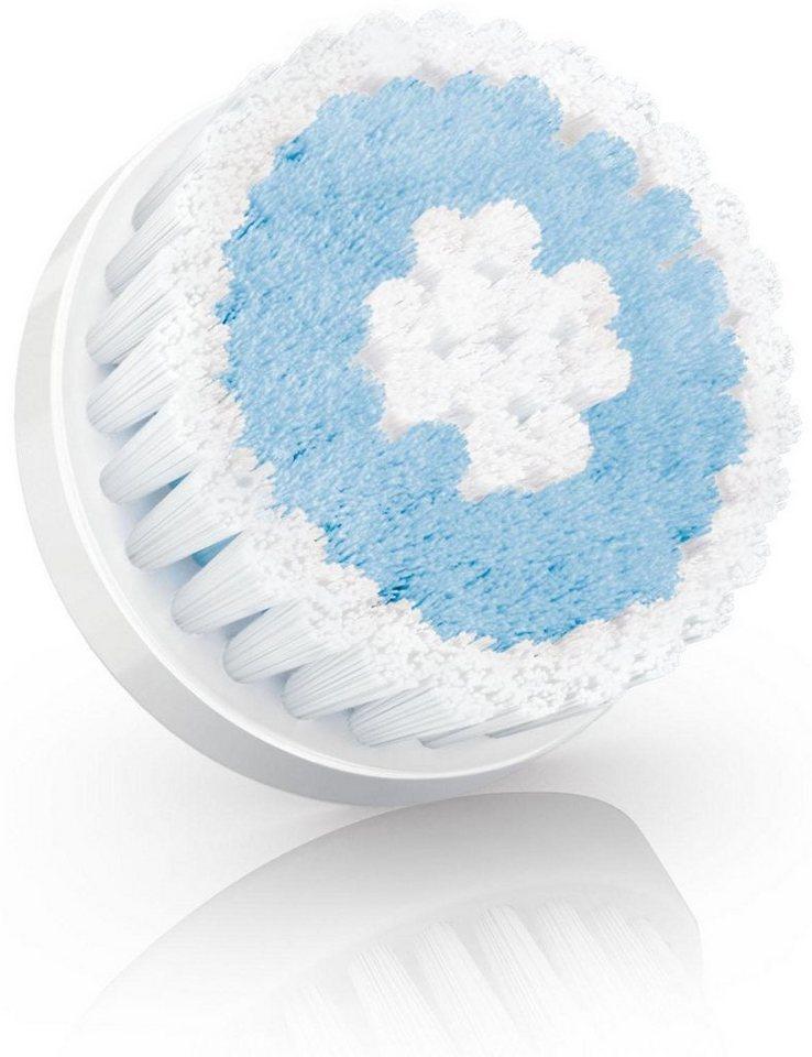 Philips VisaPure MEN Ersatzbürste MS591/50, für empfindliche Haut in blau-weiß
