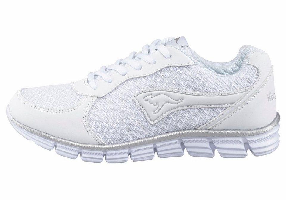 KangaROOS K-1st Run Sneaker in Weiß