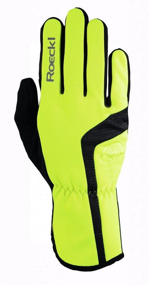 Roeckl Fahrrad Handschuhe »Reinbek Handschuhe« in gelb
