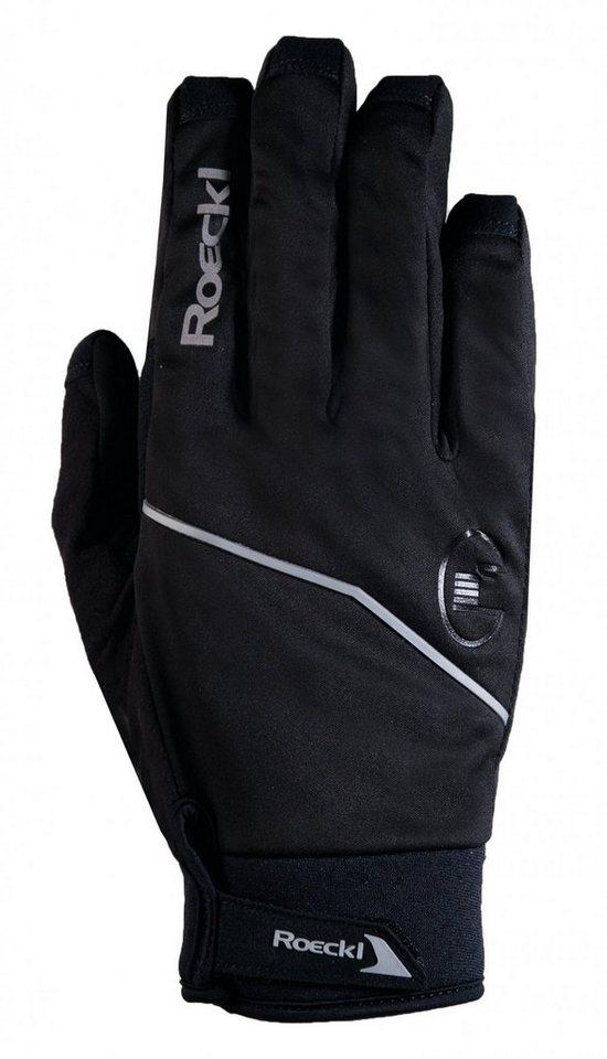 Roeckl Fahrrad Handschuhe »Renco Handschuhe« in schwarz
