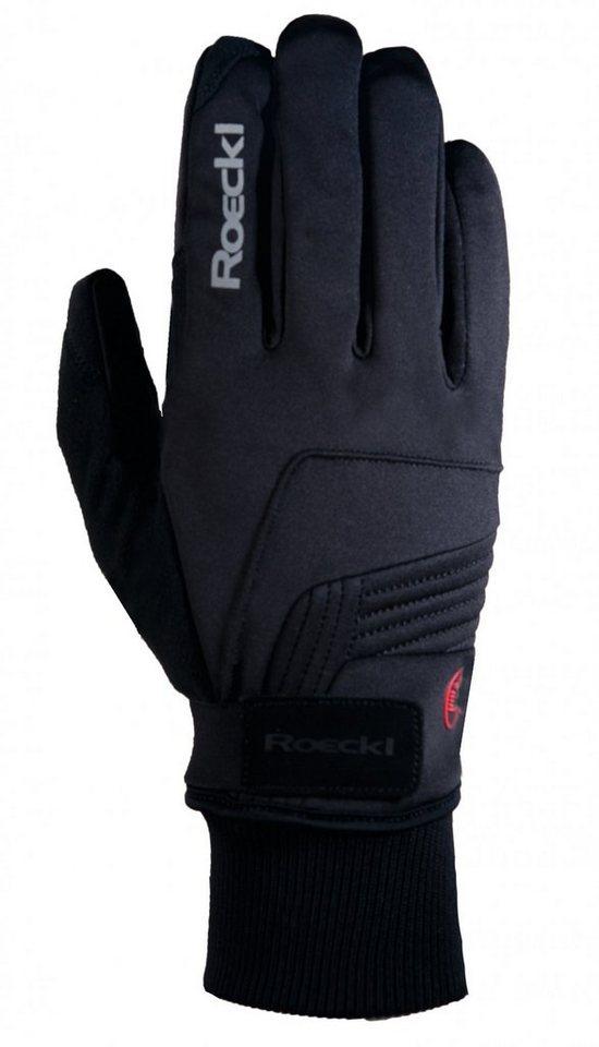 Roeckl Fahrrad Handschuhe »Rebelva Handschuhe« in schwarz