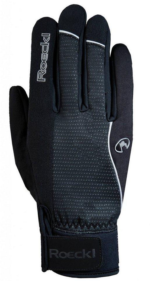 Roeckl Fahrrad Handschuhe »Rabal Handschuhe« in schwarz