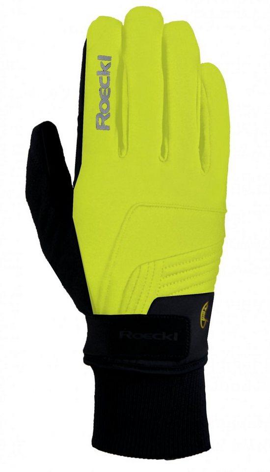 Roeckl Fahrrad Handschuhe »Rebelva Handschuhe« in gelb
