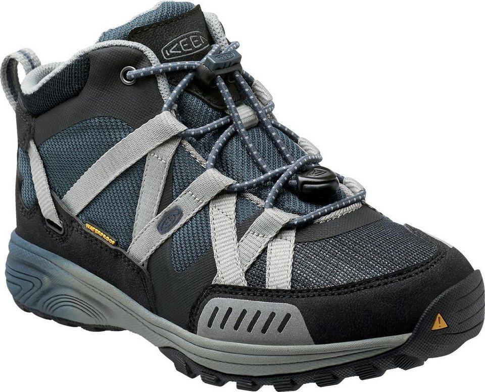Keen Halbschuhe »Versatrail Mid WP Shoes Youth« in grau