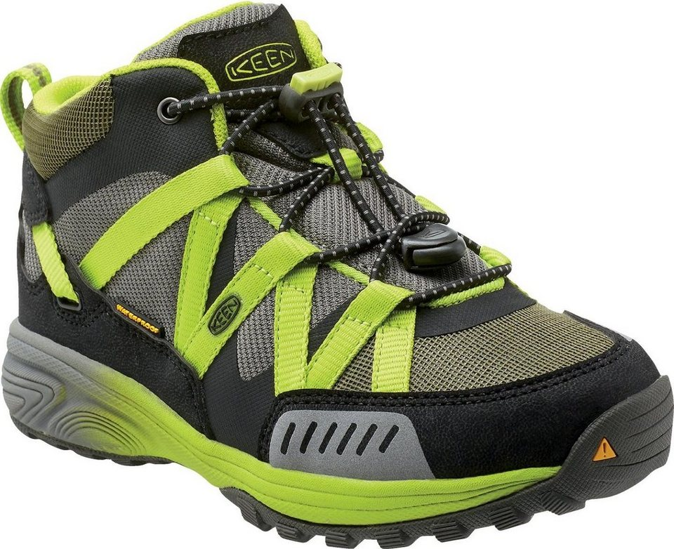 Keen Halbschuhe »Versatrail Mid WP Shoes Youth« in oliv