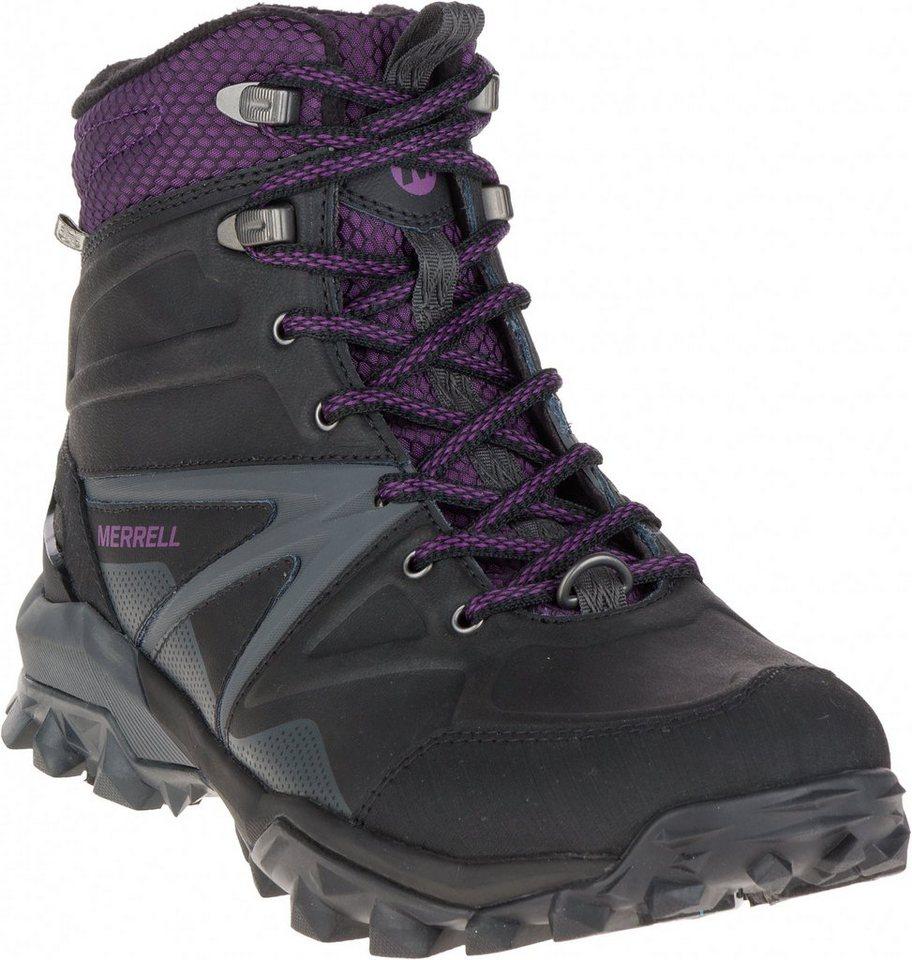 Merrell Kletterschuh »Capra Glacial Ice+ Mid Waterproof Shoes Women« in schwarz