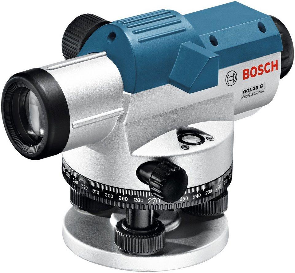 Optisches Nivelliergerät »GOL 20 G« in blau