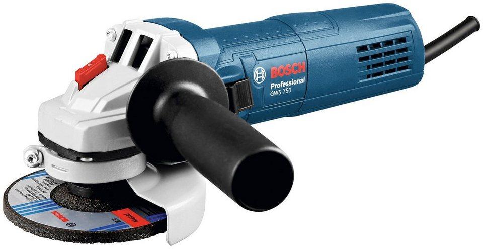 Winkelschleifer »GWS 750-125« in blau