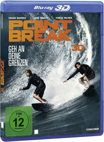 Blu-ray »Point Break - Geh an deine Grenzen (Blu-ray 3D)«