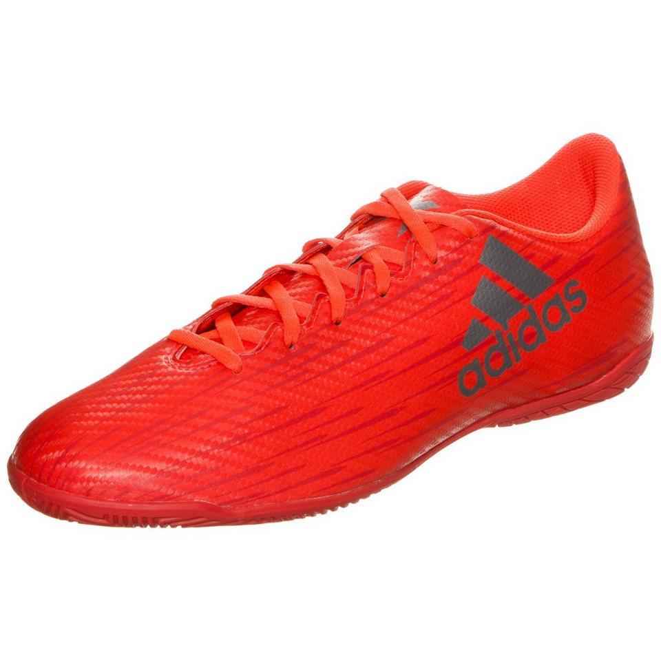 adidas Performance X 16.4 Indoor Fußballschuh Herren in neonrot / silber