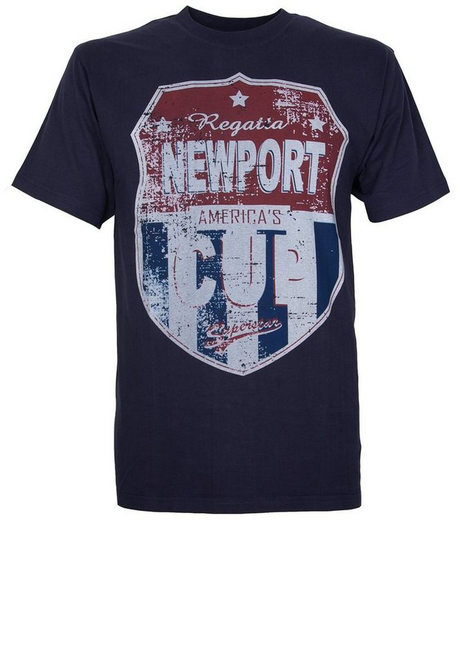 GCM T-Shirt in Marineblau