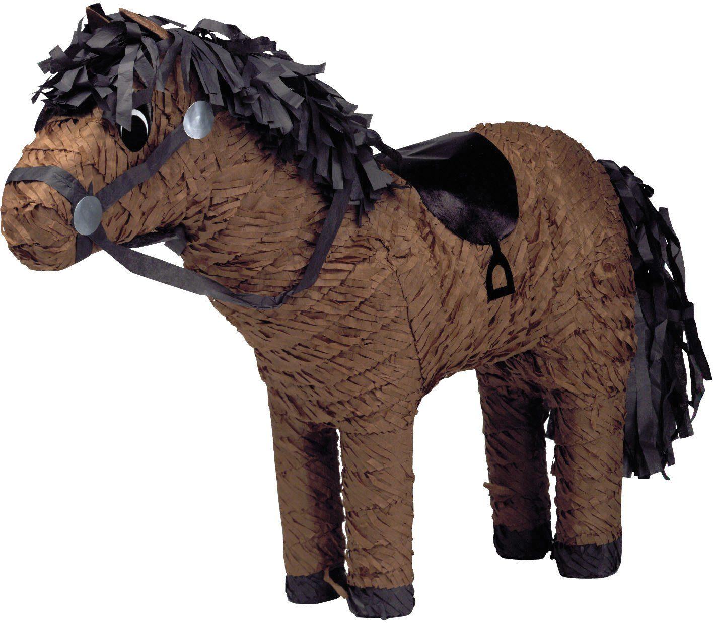 Amscan Pappmaché Figur, »Pinata Pferd«
