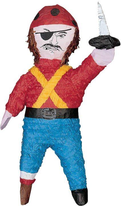 Amscan Pappmaché Figur, »Pinata Pirat«