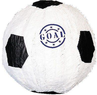 Amscan Pappmaché Figur, »Pinata Fußball«