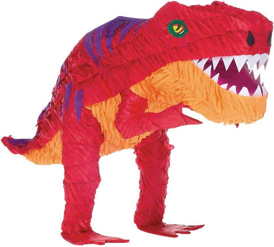 Amscan Pappmaché Figur, »Pinata T Rex«