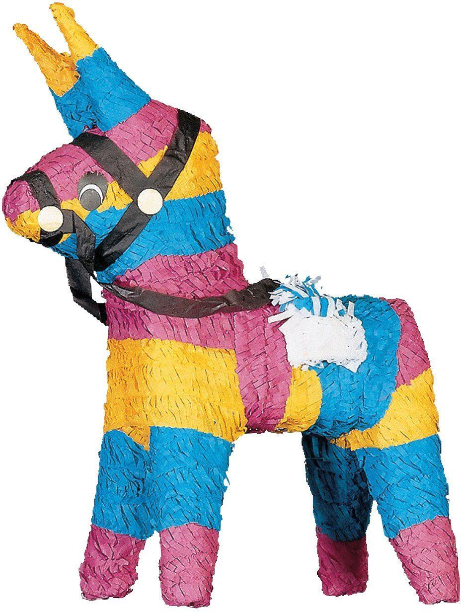 Amscan Pappmaché Figur, »Pinata Esel«