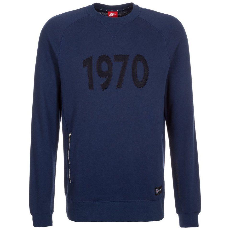 NIKE Paris Saint-Germain Authentic Sweatshirt Herren in dunkelblau