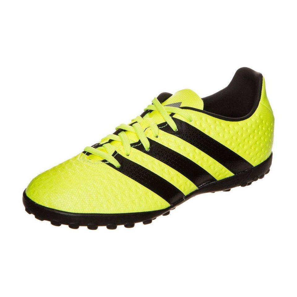 adidas Performance ACE 16.4 TF Fußballschuh Kinder in neongelb / schwarz