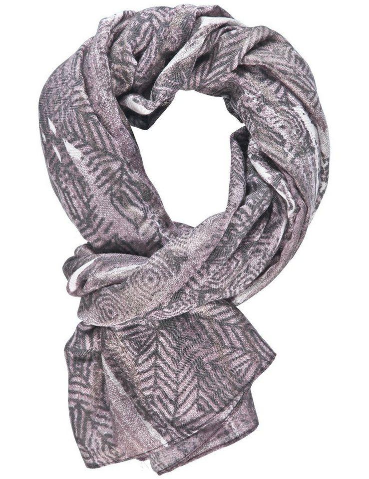 Gerry Weber Schal »Schal mit feinem Print« in Grau Druck