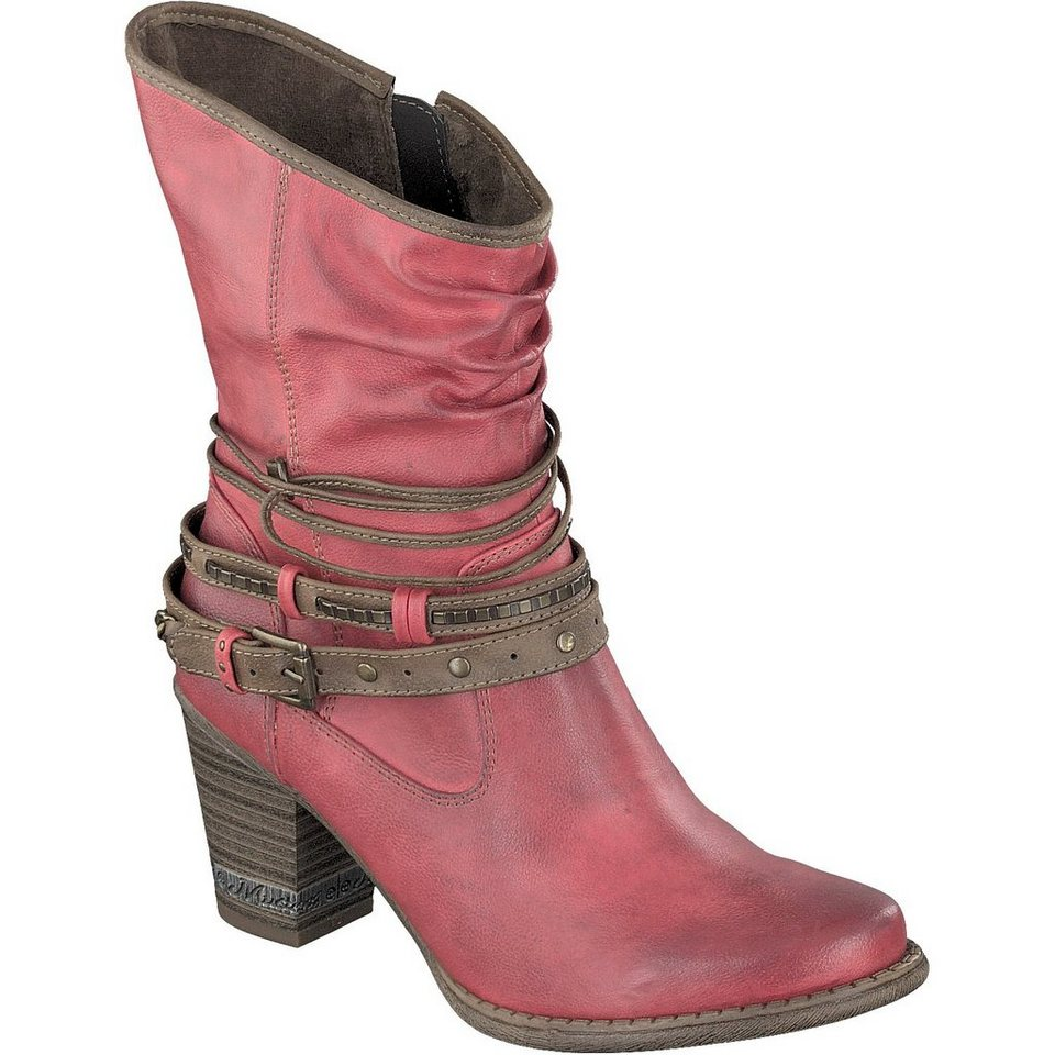 MUSTANG SHOES Stiefelette in rot