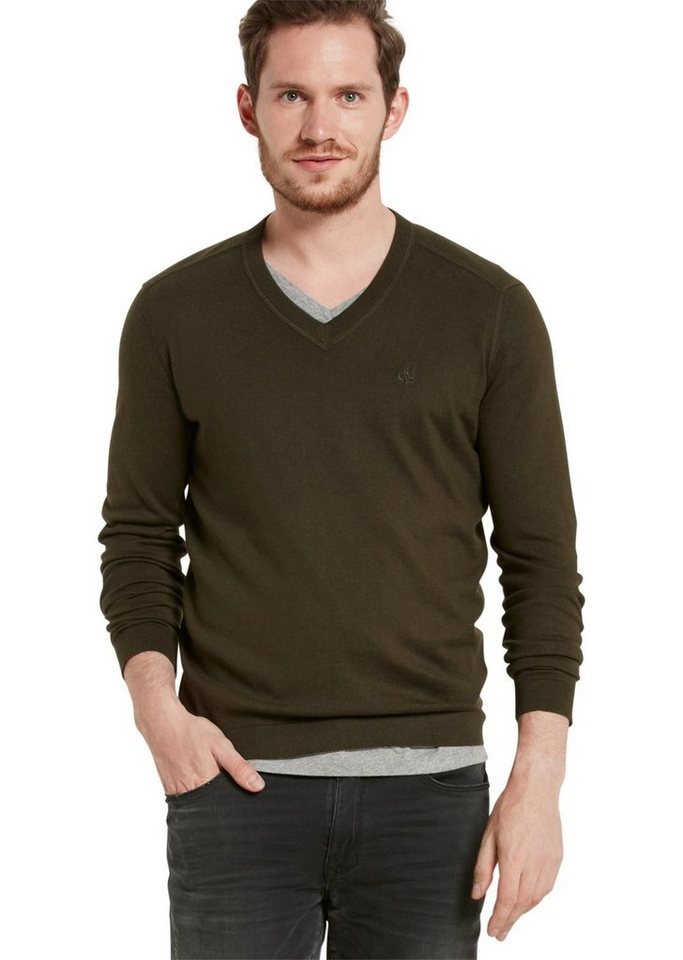 Marc O'Polo Pullover in 493 deep forest