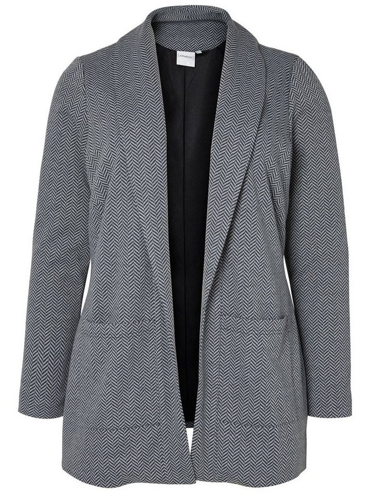 JUNAROSE Jersey- Blazer in Grey