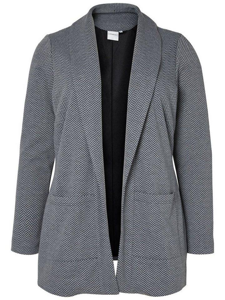 JUNAROSE Jersey- Blazer in Grey