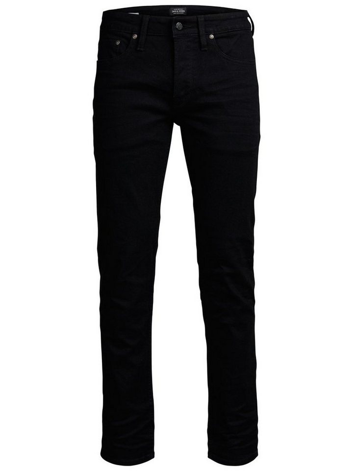 Jack & Jones Mike SC 002 Comfort Fit Jeans in Black Denim