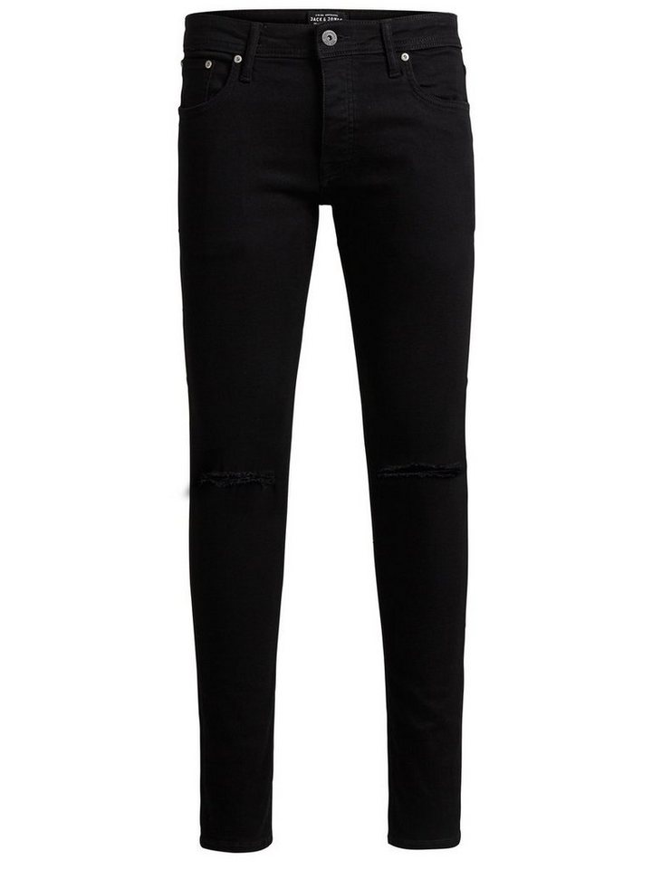 Jack & Jones Glenn Original AM 109 Slim Fit Jeans in Black Denim