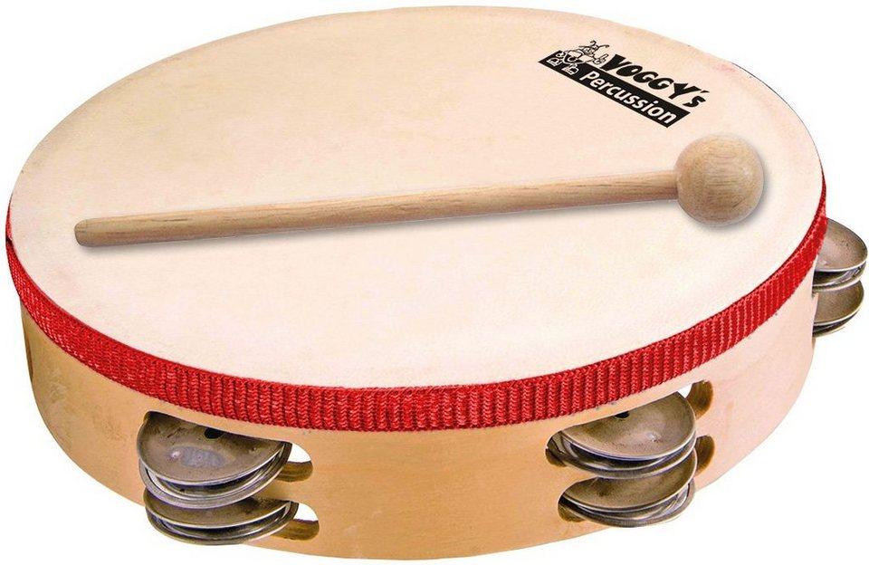 Voggenreiter Tamburin für Kinder, »Voggys kleines Tamburin« in naturfarben