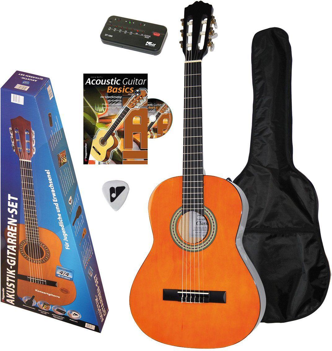 Voggenreiter Gitarrenset, »Akustikgitarren Set 4/4«
