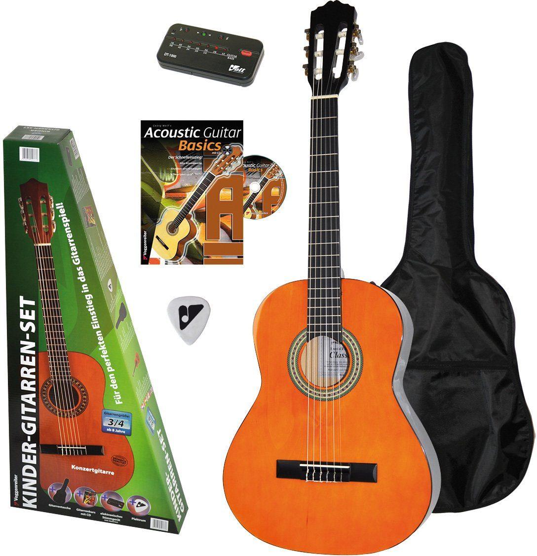 Voggenreiter Gitarrenset, »Kinder Gitarren Set 3/4«