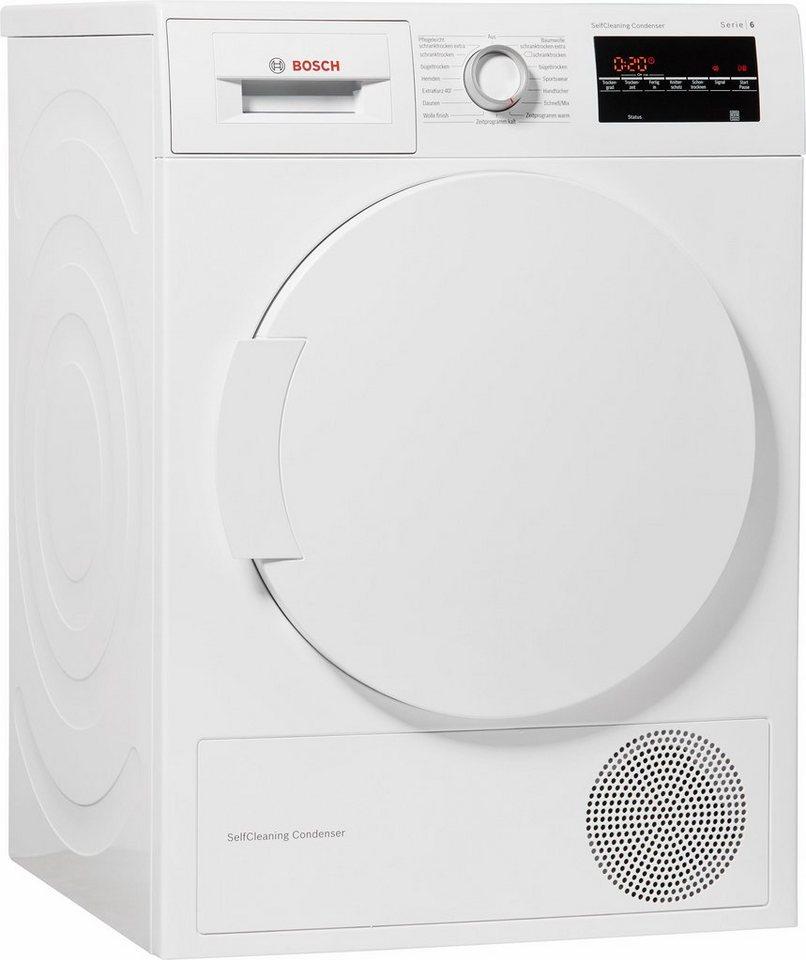BOSCH Trockner WTW83460, A++, 7 kg in weiß