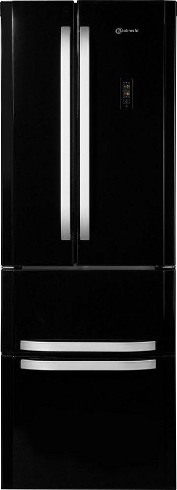 bauknecht french door k hlschrank ksn 19 a2 sw 195 cm. Black Bedroom Furniture Sets. Home Design Ideas