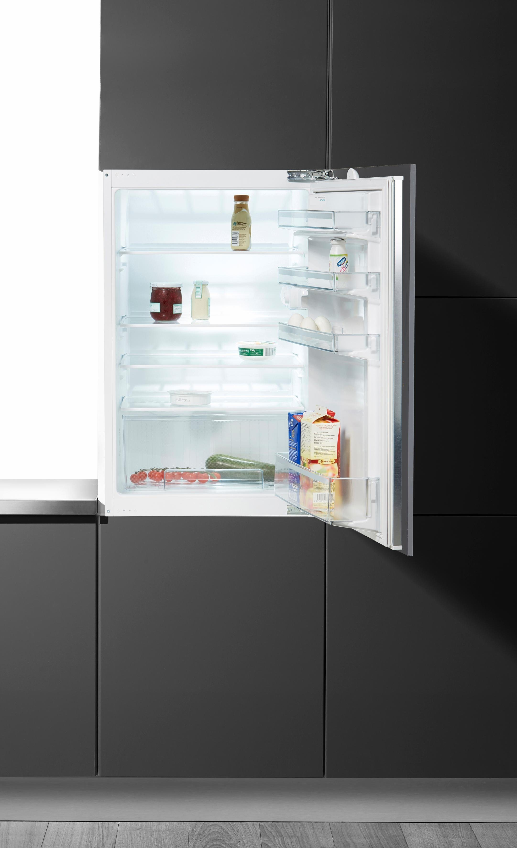 Einbaukühlschrank KI18RV60, 87,4 cm hoch, 54,1 cm breit, A++, 87,4 cm, für 88er Nische, integrierbar
