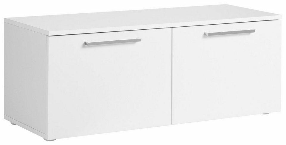 Schuhbank »Lilly« 2-türig, Breite 92 cm in weiß/weiß matt