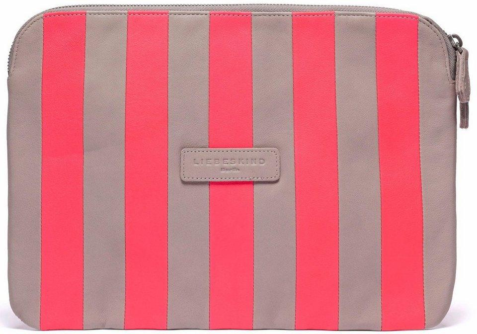 Liebeskind Brieftasche »Emelie« im angesagten Streifendessin in rosa