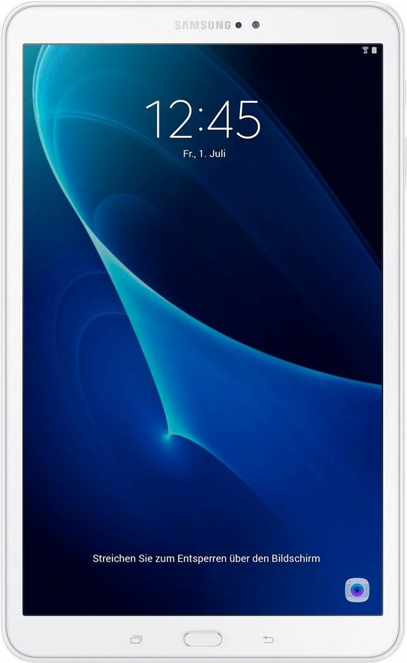 Samsung Galaxy Tab A 10.1 (WiFi) Tablet-PC, Android 6.0, Octa-Core, 25,5 cm (10,1 Zoll) in weiß
