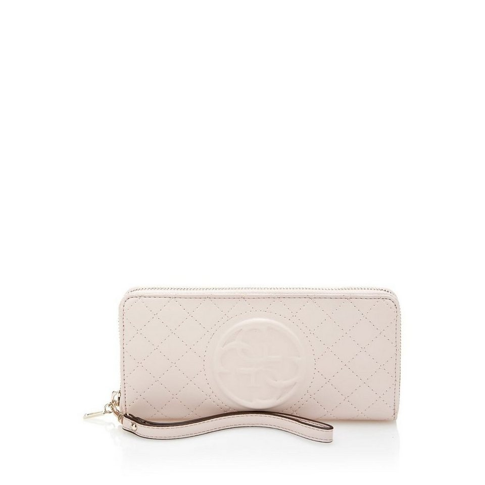 Guess GROSSES PORTEMONNAIE KORRY in Rose