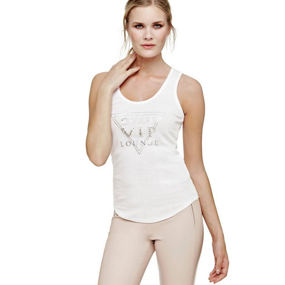 Guess LOGO-TOP in Weiß