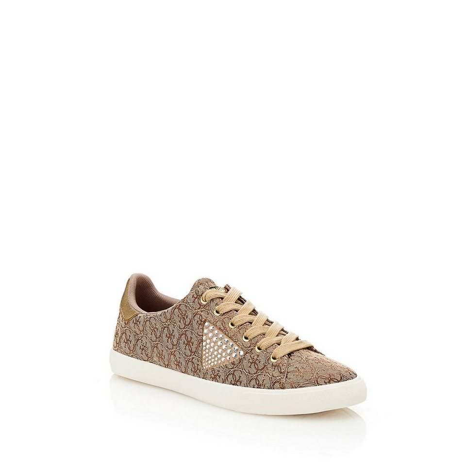 Guess SNEAKER MARLINE LOGO in Beige