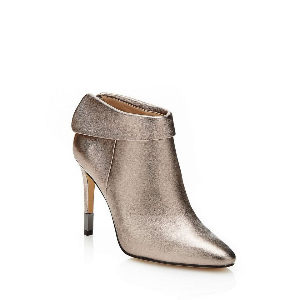 Guess ANKLE BOOT VENA METALLIC in Braun